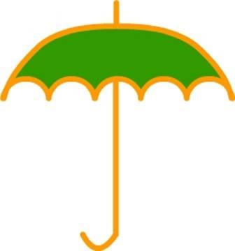 《绘制雨伞》的制作方法-flash动画教程-flash课件吧